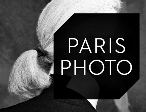 Suivez le regard de Karl Lagerfeld au Paris Photo